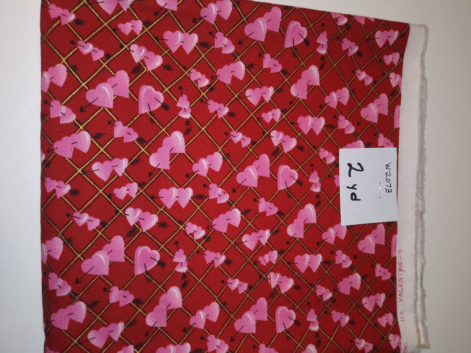 Primary image for Valentine print, Hi-Fashion Fabrics, 2 yd. (W2073)