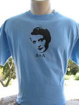 Ayn Rand T-Shirt Atlas Shrugged Objectivist Libertarian - $14.84+