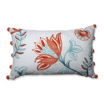 Pillow Perfect Harper Citrus-White Rectangular Throw Pillow - $55.05