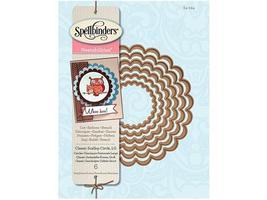 Spellbinders Nestabilities Classic Scalloped Circles, Large #S4-124