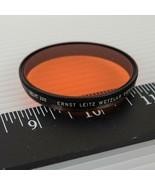 Vtg Leitz POOKZ / Leica 13310Z Orange Or. Filter for Telyt 200mm / Thamb... - $87.22