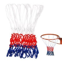 Nylon Standard Sports Basketball Net Wholesale 5pcs Durable Sport Traini... - $16.82