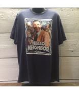 MISTER MR ROGERS NEIGHBORHOOD Hello Neighbor Poly Blend Retro Mens T-Shi... - $14.84