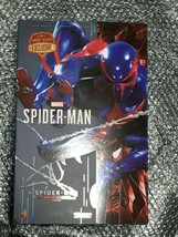 HOT TOYS Video Game Masterpiece 1/6 Scale Figure Spider Man Black Suit Ver - $593.01