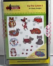 Amazing Designs Für Haustier Liebhaber I Stickereien CD,ADC-57TK - $55.89