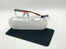 New Nike 8171 060 Gunmetal Optical Eyeglasses 55-17-140MM /CASE - $58.61