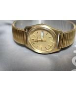 Hamilton quartz vintage day date gold plated nice watch - $210.17
