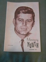 Old Vintage 1964 Missionary Youth JOHN F KENNEDY JFK Memorial Issue Reli... - $19.99