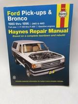Haynes 36058 Ford Pick-ups & Bronco 1980 thru 1996 Service Repair Manual  B367 - $15.82