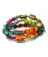 South Beach Collection 3-Strand Stretch Bracelet by Treska - $14.90
