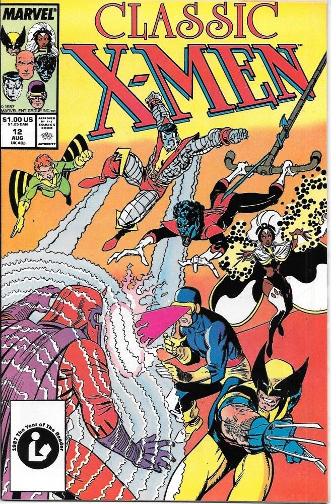 Primary image for Classic X-Men Comic Book #12 Marvel Comics 1987 VERY FINE/NEAR MINT NEW UNREAD