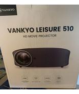 "Vankyo Leisure 510 HD Movie Projector 230"" Projection - Brand New - $95.05"
