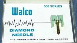 W-523STD STEREO RECORD PLAYER NEEDLE for JVC DT-32 SHARP STY-701  637-D7 image 2