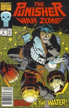 (CB-1} 1992 Marvel Comic Book: The Punisher - War Zone #2 - $2.00