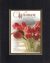 Women are the church's strong rock . . . 8 x 10 Inches Biblical/Religious Verses - $11.14