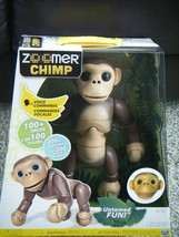 Zoomer Interactive Chimp with Voice Command, Movement and Sensors - $42.50