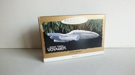 Hallmark Star Trek 1996 USS Voyager Light up Ornament Magic  - $12.19