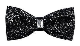 Luxury Neckties Man's Super Set Auger Bow Ties Fashion Bowtie Black - €9,39 EUR