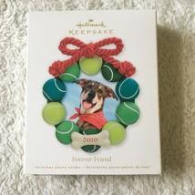 Hallmark Keepsake Forever Friend Christmas Dog Ornament New - $10.87