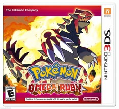 3DS NINTENDO POKEMON OMEGA RUBY 2014 2DS VIDEO GAME 2-4 PLAYERS NEW SEALED - $39.99
