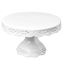 Gracie China 10-Inch Diameter Victorian Rose Fine Porcelain Round Pedest... - $42.47