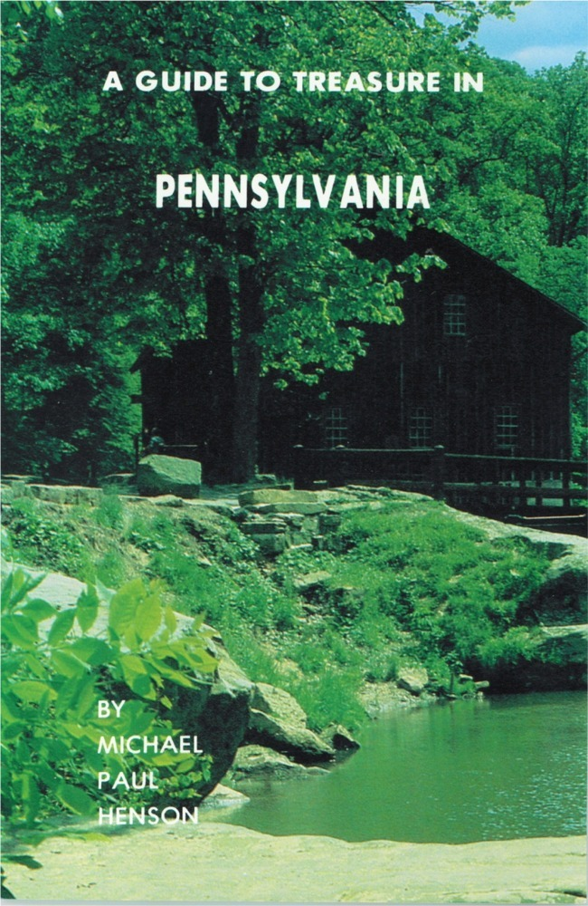 A Guide to Treasure in Pennsylvania ~ Lost & Buried Treasure