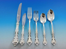 Alencon Lace by Gorham Sterling Silver Flatware Set for 12 Service 77 pieces - $4,650.00