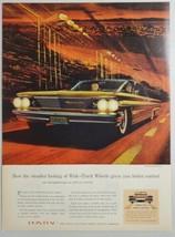 1960 Print Ad The '60 Pontiac Bonneville Vista Wide-Track - $16.81