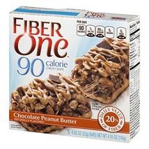 Fiber One 90 Calorie Bars, Chocolate Peanut Butter, 4.10 oz. - $12.99