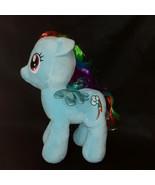 2018 Build A Bear My Little Pony Rainbow Dash Light Blue Stuffed Plush T... - $19.80
