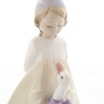 Nao by Lladro  02000533 MY FRIEND GOOSE Porcelain Figurine New  - $148.50