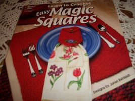 Annie's Attic Learn to Crochet Easy Magic Squares - $10.00
