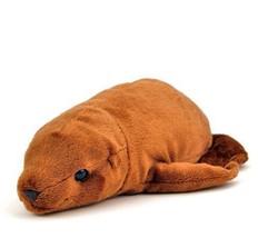 New Plush Stuffed Animal Sea Lion Lying Colorata Japan F/S - $21.21