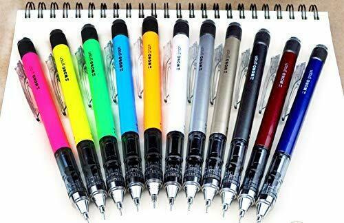 *Tombow Pencil monograph 0.5mm mechanical pencil neon color white DPA-134A image 5