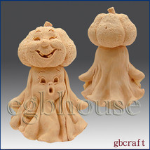 3D Silicone Soap & Candle Mold – Man in the Pumpkin - $46.28