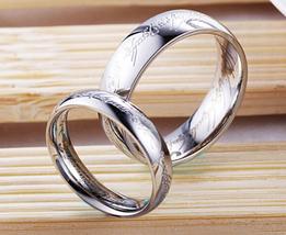 "1 x fashion titanium steel classic silver color for men fashion jewelry 17""rings - $6.99"