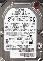 DADA-24860, PN 25L2663, MLC F21909, IBM 4.8GB IDE 2.5 Hard Drive
