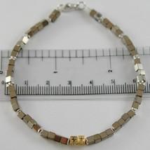 Armband Giadan aus 925 Silber mit Hämatit Glänzend und Diamanten Schwarz... - $198.55