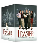 Frasier The Complete Series DVD Seasons 1-11 All 257 Episodes New 44-Disc Set - $125.00