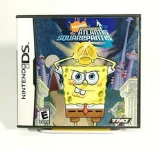 Nickelodeon SpongeBob's Atlantis SquarePantis Nintendo DS 2007 THQ 11077... - $10.80
