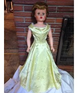 """Vintage 1950's MANCO Doll, Vinyl Plastic Body, 28"""" Tall, with Stand - $74.24"""