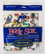Book Sox The Original Print Skate Board, Karate ETC Book Covers NIP  - $10.88