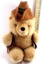 Cowboy Western Plush Teddy Bear Six Flags Magic Mountain Stuffed Animal ... - $13.85
