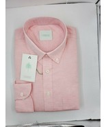 FORREST LENNARD mens Oxford button-down l/ sleeve size M $49 - $49.50
