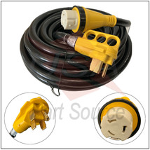 50 foot 50 amp RV Extension Cord Power Supply Cable for Trailer Motorhom... - $199.99