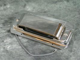 Rickenbacker 4003 Bass Guitar Chrome Bridge Pickup Ring Cover Assembly P... - $325.00