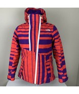 The North Face Jacket Hyvent Women's Medium Hood Sli Coat Multi Color Fu... - $139.99