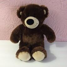 "Build A Bear Workshop Teddy Bear Plush Stuffed Animal 16"" Dark Brown - $7.72"