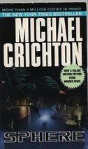 Sphere - Michael Crichton - PB - 1987 - Ballantine Books - 0-345-35314-5. - $0.97