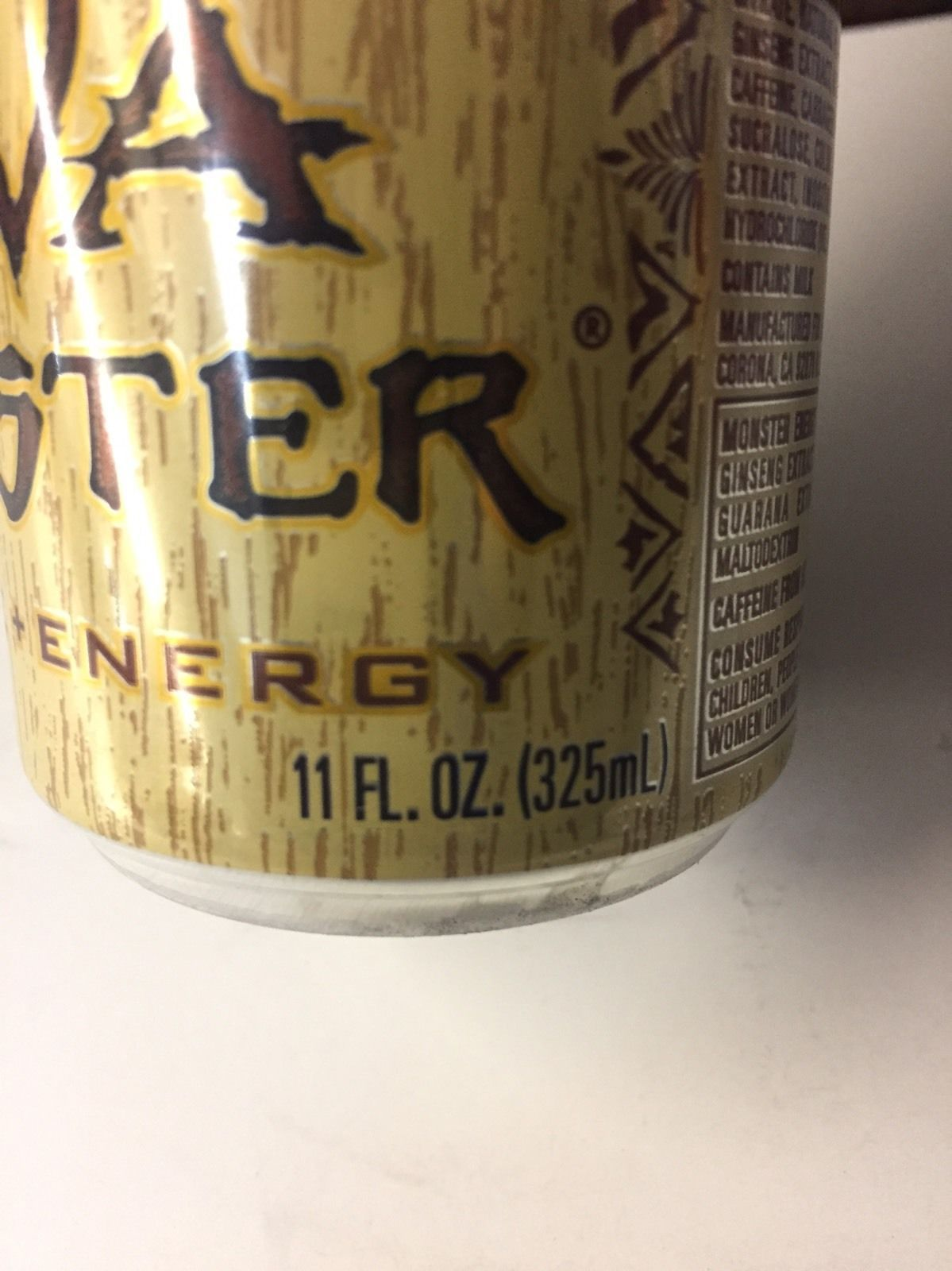 Monster Java Mean Bean 11oz Can. Coffee & Energy .1 Full Can Lot. SKU 0516